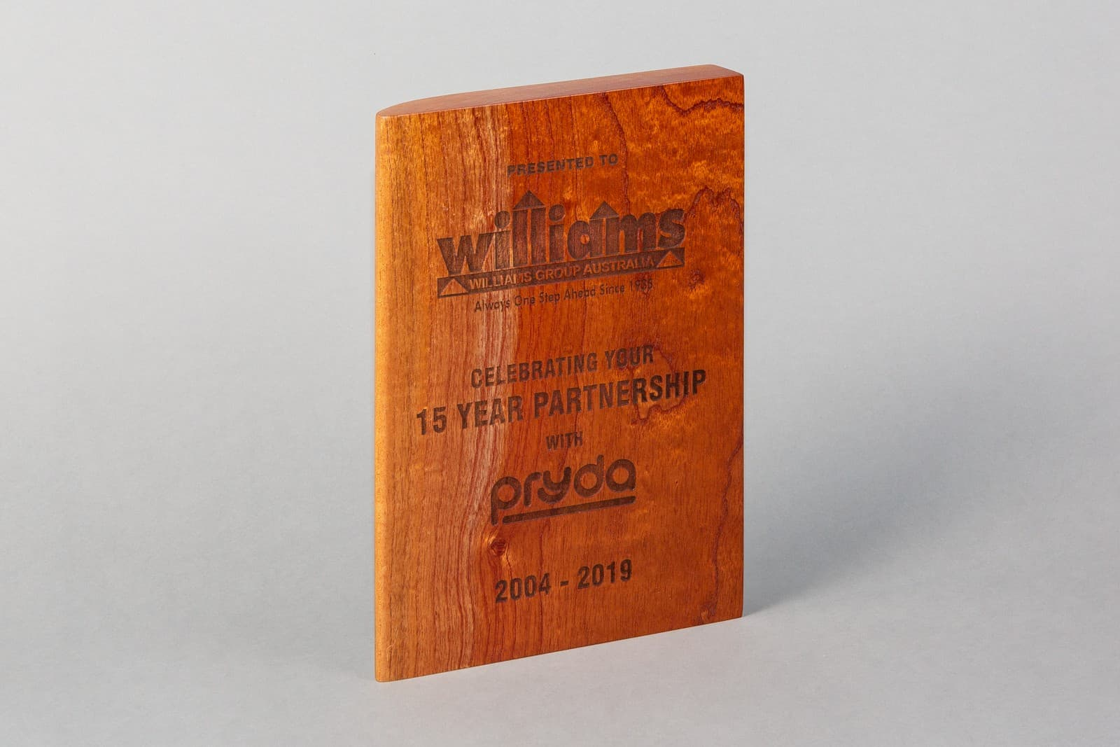 Natural Collection Champion and Natural Series Corporate Award by Lasercraft.com.au (Timber - Wall Plaque - Australian Made - Trophies - Program - Recognition) - SKU:S1607 - Pic-02